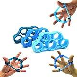 ADMA Finger Stretcher Resistance Hand Bands,Finger Extension Exerciser,Finger Grip Strengthener 3...