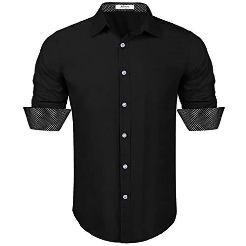 Marca MERAKI Camisa Vaquera de Manga Larga Ligeramente Entallada Hombre