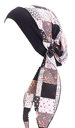 ToBe-U - Turbantes de quimio para mujer, pelo largo, bufanda, gorros, regalos...