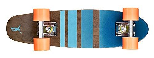Ridge Skateboards Maple Mini Dark Dye - Longboard, Color Naranja, Talla 22-Inch
