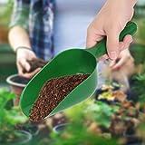 EFFACER Soil Shovel, Plastic Multifunction Plastic Scoop Plastic Shovel, for Gardening
