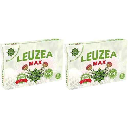 Cvetita Herbal Leuzea Carthamoides Ecdysterone Estratto di erbe naturale   Forza   Resistenza   Muscolo di carburante   Lean anabolizzanti   Muscolo   Massa   Guadagno di forza (60 compresse x 200 mg)