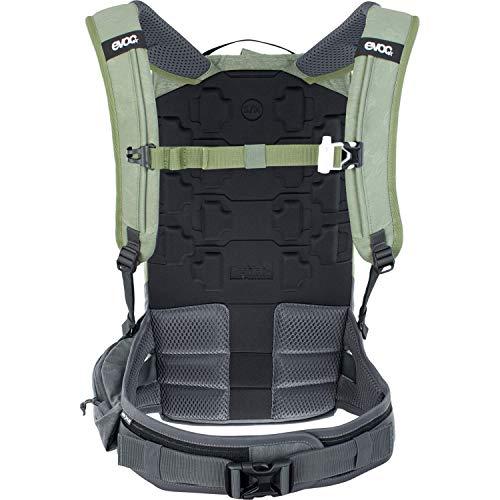 Evoc Zaino Trail Pro 10L Protector - Verde Oliva Grigio