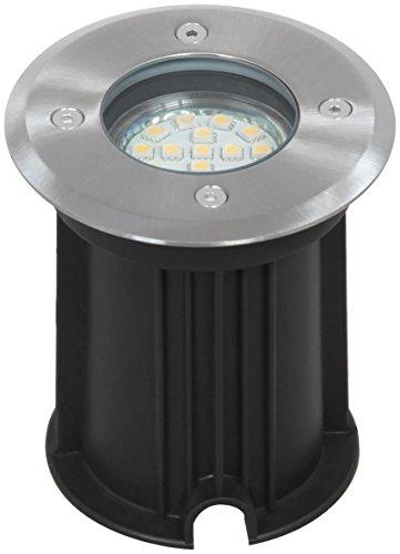 Spot LED encastrable Smartwares – 3 Watts et 230 Lumen - Raccord GU10 - Rond