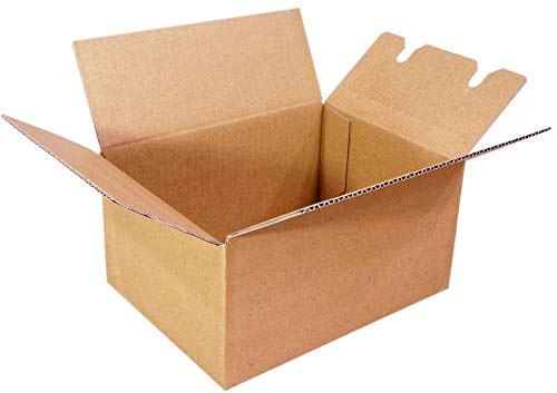 ディズプラス 【日本製】組み立て簡単 ワンタッチ ダンボール 【10枚セット】(19.5×14.8×10cm) 梱包 収納 箱 配送 ボックス 段ボール dW1-10
