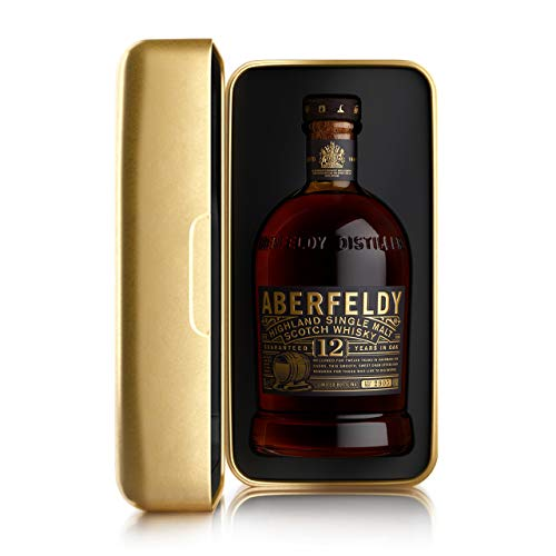 Aberfeldy Exklusive 12 Geschenkverpackung im Nugget Format Single Malt Whisky (1 x 0.7 l)
