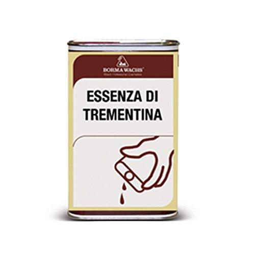 Aguarrás puro Borma es un producto incoloro de origen vegetal, diluyente de esmaltes de aceite natural o sintéticos - 1 litro -
