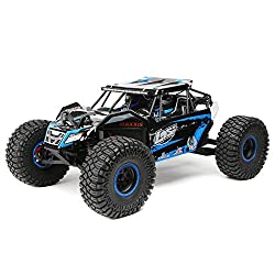 Team Losi 1/10 Rock Rey 4WD RTR with AVC, Blue