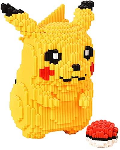 RSVT Mini Bloques Pokemon Pikachu Figura Figura Conjunto De Juguetes Regalos para Niños Y Adultos (5210Pcs)