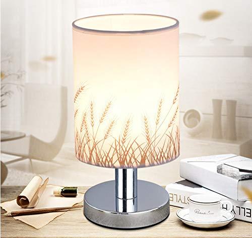 LIUJINHAI Lámpara de Mesa Abajur Design Lampe Dormitorio lámpara de Noche lámpara de Sala de Estar Interior Abajur para Quarto Escritorio lámpara de iluminación para el hog
