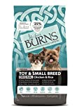 Burns Pet Nutrition Hypoallergenic Complete Dry Dog Food Adult and Senior Dog Small/Toy Breed...