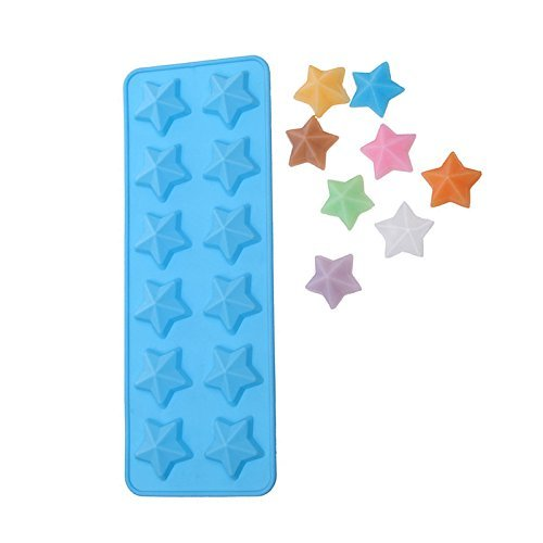 NiceButy Moule en silicone en forme d'étoile pour gâteaux