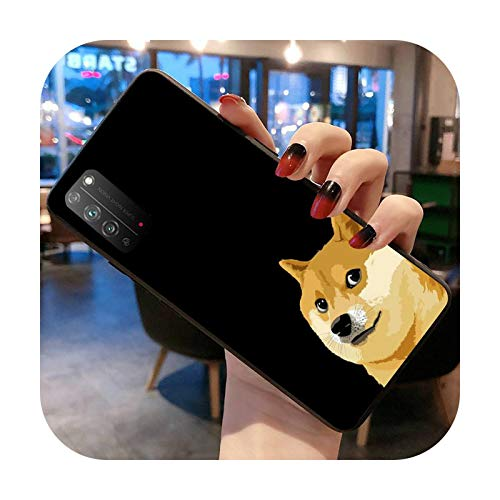 Doge Meme Kabosu - Carcasa para Huawei Honor 30 20 10 9 8 8x 8c v30 Lite view pro-a3-honorV30 Pro