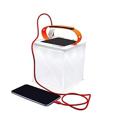 LuminAID 2-in-1 Camping Lantern/Solar Phone Charger Titan | As Seen on Shark Tank