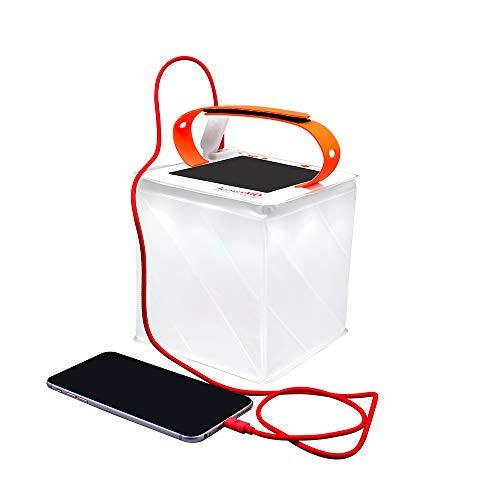 2-in-1 Camping-Laterne/Solar-Ladegerät – LuminAID Titan | Bekannt aus Shark Tank