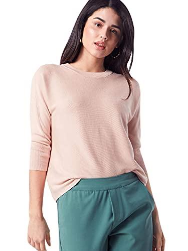 ONLY Damen onlREGITZE 3/4 KNT NOOS Pullover, Rosa (Rose Smoke Rose Smoke), 34 (Herstellergröße: XS)