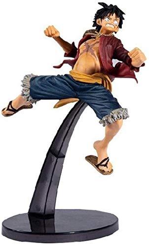 Yooped Figura de animación One Piece Luffy Decisive Battle Bwfc Figuras Figura Estatua 20CM