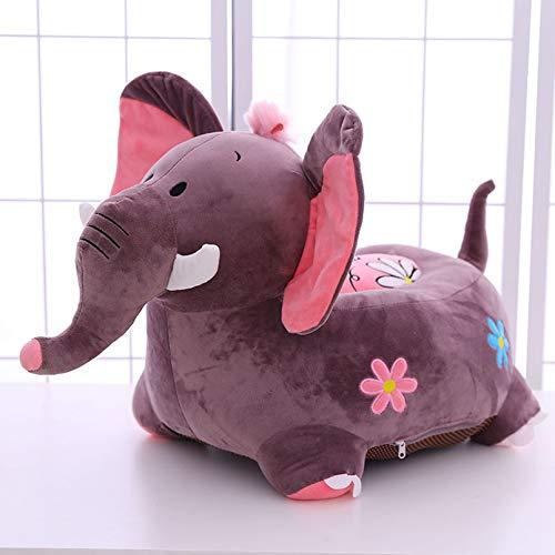 Creator-Z Chaise Étui pour Enfant Animal Motif – Sacs de Haricots Intérieur ou extérieur – Fauteuil Jardin Pouf Housse - léléphant,B