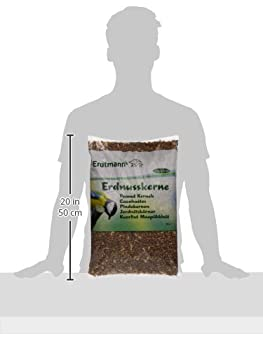 Erdtmanns Cacahuètes pour Oiseaux 5 Kg