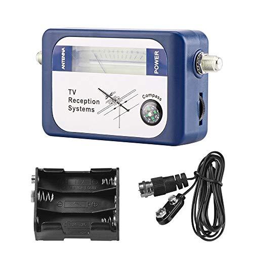 Meter DVB-T Finder Antenna TV terrestre digitale per la misurazione del segnale dell antenna, antenna TV digitale Meter Finder Meter con sistemi di ricezione TV Compass