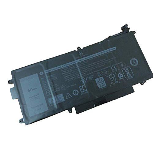 K5XWW N18GG 6CYH6 71TG4 Sostituzione della batteria del laptop per Dell Latitude 5289 E5289 7389 7390 2-in-1 P29S001 P29S002 L3180 Latitude 12 5000 5289 P29S001 2-in-1 Ultrabook Notebook(7.6V 60Wh)