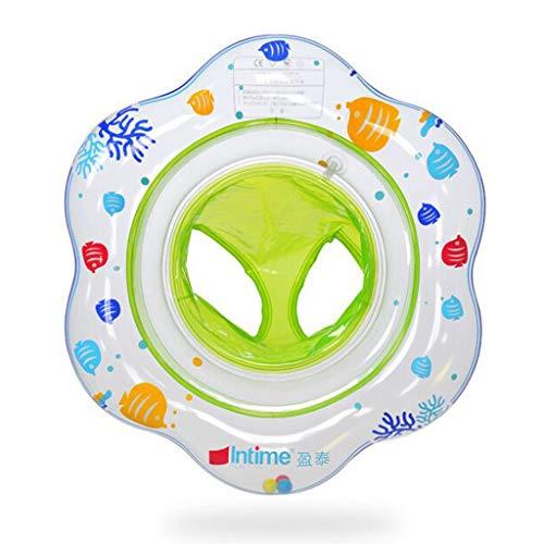 shengo Schwimmring Baby Schwimmsitz Baby Schwimmhilfe mit Schwimmsitz PVC, für Kleinkind 6 Monaten bis 3 Jahren, Perfekt Schwimmtrainer für Kleinkender (Grün)