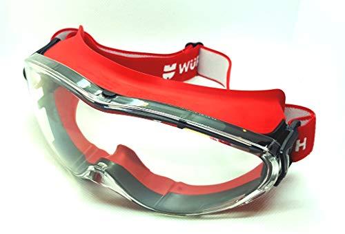 Wurth Gafas de visión completa Andromeda® 0899102110 con sello completo alrededor de los ojos