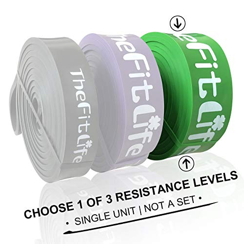 TheFitLife Resistance Pull Up Bands - Pull-Up Assist Exercise Bands, Long...