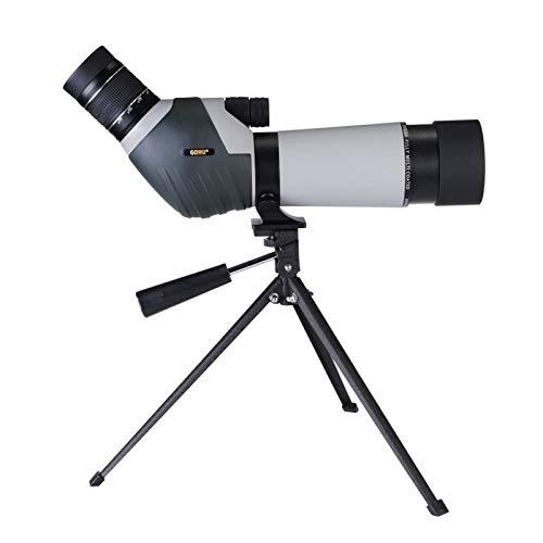 Auoeer Alta Potencia y HD monocular, 20-60x60 al Aire Libre Llena de nitrógeno Telescopio de visión a Prueba de Agua for la observación de Aves Viajar Camping De Caza