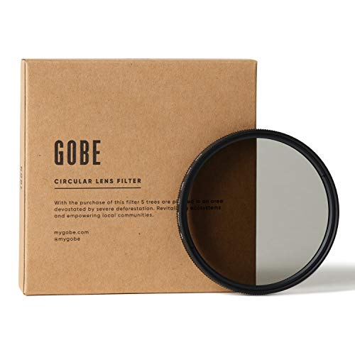 Gobe 67 mm Polfilter (Polarisationsfilter) CPL (2Peak)