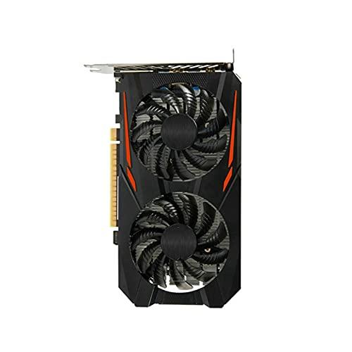 Newwiee Fit for GIGABYTE GA MSI Tarjeta Raphic GTX 750Ti 2GB 960 2G 4G 1050Ti 4G 1060 3G 5G GPU Soporte AMD Tarjeta gráfica para Juegos Tarjeta de Video para PC(Size:A-GA-GTX-1050TI-4GB)