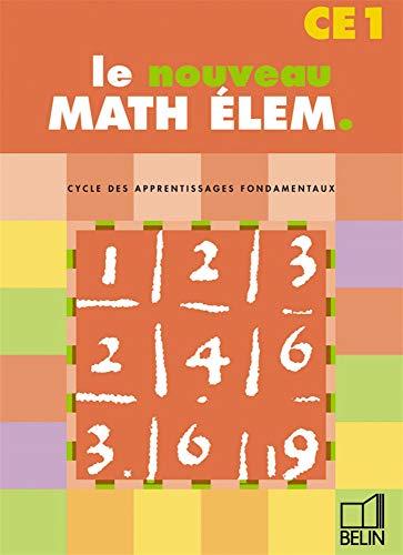 Le nouveau math élem. CE1