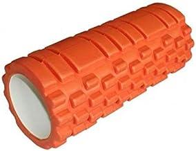 اداة تمارين رياضية بتصميم عمود اسطواني مجوف من الاسفنج لتمارين اليوغا من فيكيلاني - برتقالي