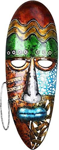MUZIDP Mascarilla Africana con máscara de Arte de la Pared de la Pared con máscara...