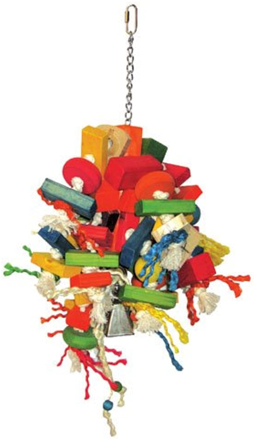 Happy Beaks Cluster Blocks Bird Toy by A&E Cage Co.