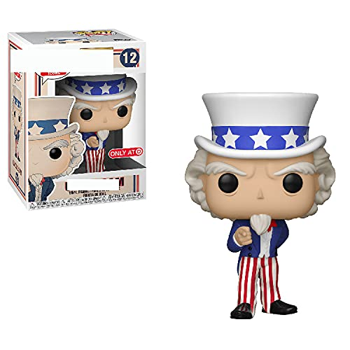 POP historia historia tío Sam figura decoración modelo Q versión vinilo coleccionable regalo de juguete 10 cm