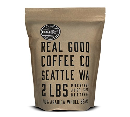Real Good Coffee Co Whole Bean Coffee, French...