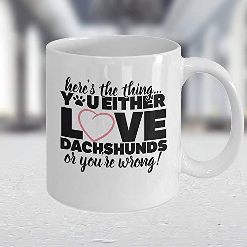 Divertida taza de perro salchicha salchicha, regalo de perro salchicha, regalo para perros, regalo para amantes de los salchichas, regalo para perros y padres, Weiner, Doxie Mama,