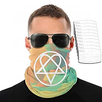 Heartagram Tattoos Men & Women Sports Mask Dust Mask with Filte Mouth Mask