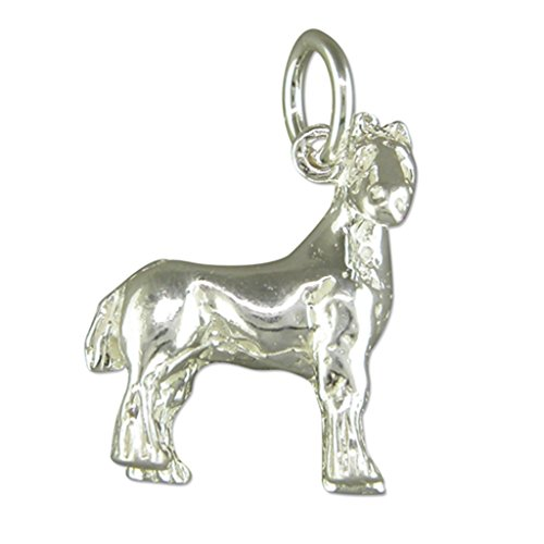 Sterling zilveren Shire Paard Hanger