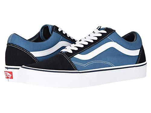 Vans Ua Old Skool, Sneaker da uomo, colore grigio, 47 EU, Nero (Blu navy/bianco.), 6.5 UK Men/ 8 UK Women