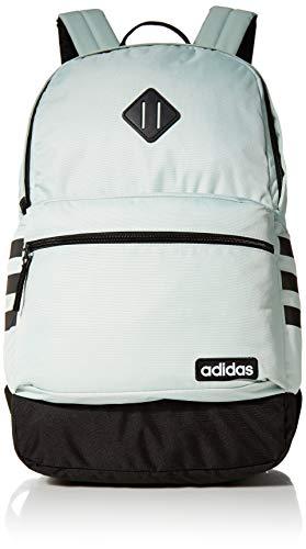 adidas Classic 3S III Rucksack, Unisex-Erwachsene, Classic 3S III, Rucksack, 977983, Grün Tönung / Schwarz V3, Einheitsgröße
