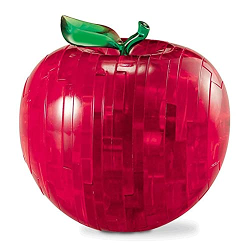 Enemy Sensory Spielzeug, Erwachsene Apfel Kristall Puzzle Kreative Dekompression Neuheit Puzzle Desktop Kinderspielzeug Geburtstagsgeschenk Spielzeug Perfekte Größe für Erwachsene und Kinder