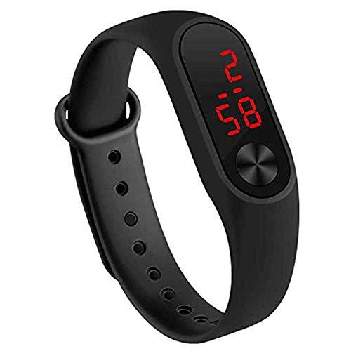 Dainty LED Digital M2 Black Colour Unisex Wrist Digital Watch - for Boys