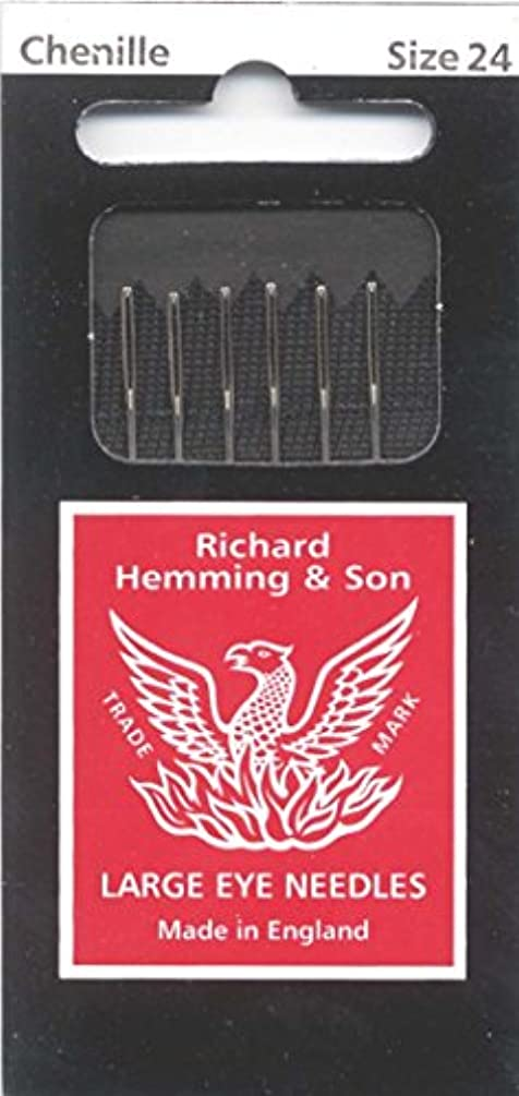 Colonial Needle 6 Count Richard Hemming Chenille Needle, Size 24