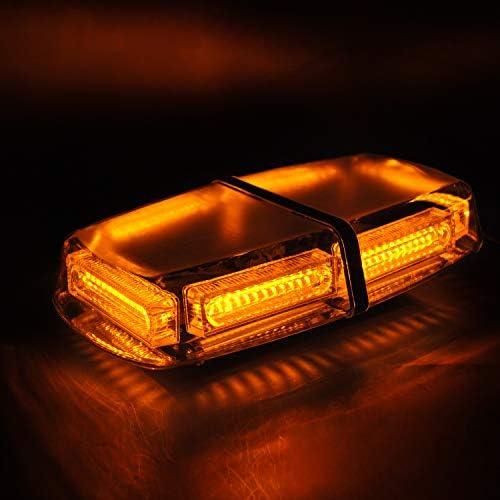 MUSTBEE 72 Led Roof Lights Strobe Emergency Hazard Warning Safety Flashing LED Mini Bar Button product image