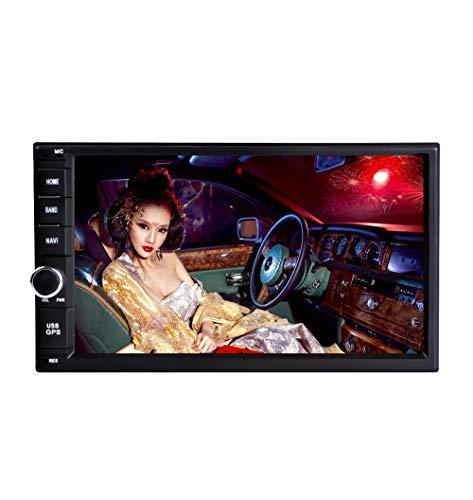 Freeauto Universal Andriod 9.0 Car GPS Navigation 2 DIN 7 pollici, avvio rapido, supporta Bluetooth 4.0  Wifi  DAB+  Mirror-link   Controllo del volante  USB  SD  AV-OUT  1080P Video