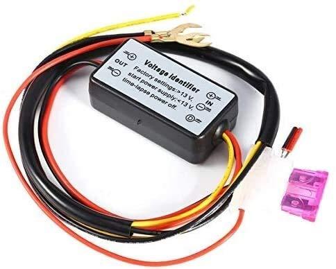 KASILU Dlb0216 Controlador DRL Auto Coche LED LED DÍA DORTAL LUZ DE LA LUZ DE LA LUZ DE LA LUZ DIMMER ON/Off 12-18V Frog Controlador Alto Rendimiento