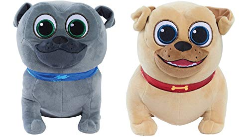 Disney Puppy Dog Pals Plush Gift Set - Bingo & Rolly (Styles May Vary)