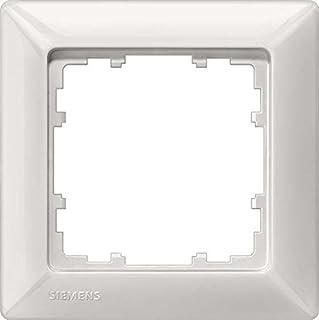 Siemens delta line-miro bl Rahmen 5TG2551-0 1fach titanweiss